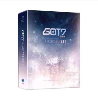 GOT7 FLY Concert DVD
