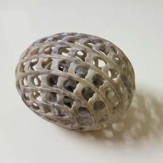 印度直送罕有原塊手工雕刻象中象超精細石雕擺設 Stone Craving