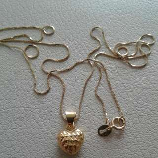 18K Necklace Yellow Gold