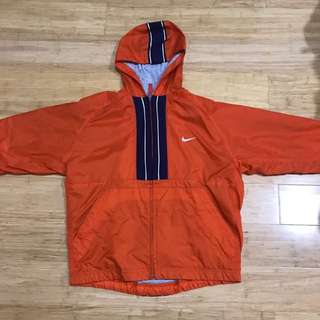 ORANGE NIKE SPRAY JACKET