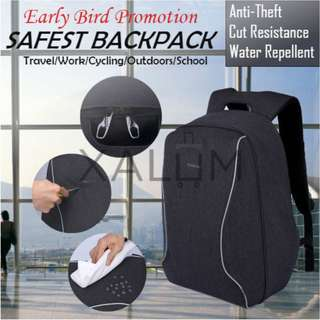 BN TigerNu Anti-Theft Backpack