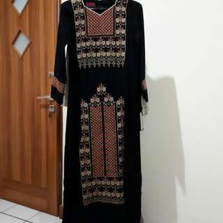 Black Padangnese Bordir