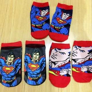 Superman Socks SetOf3