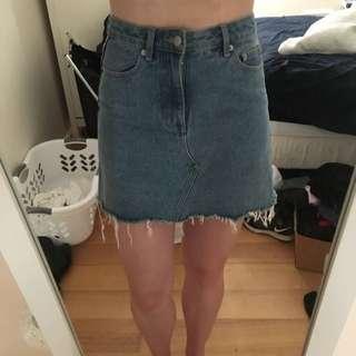 Insight denim Skirt With