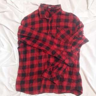 mr yes red flannel