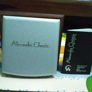 Alexandre Christie Classic Steel Black Original