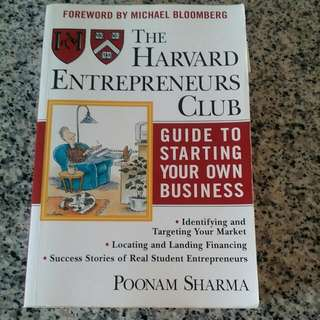 Guide To Starting Your Own Business - The Harvard Entrepreneurs Club