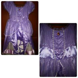Sofia the first Disney Costume