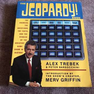 The Jeopardy Book (Alex Trebek)