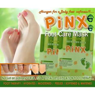 Pinx Foot Care Exfoilating Mask