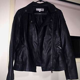 Women's Leather Look Jacket