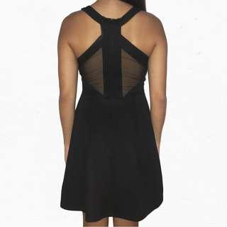 LBD / Back Detail Fit & Flare Dress