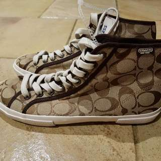 Coach High Top Shoes