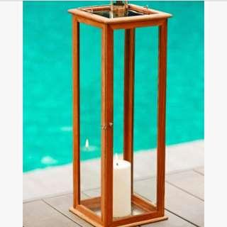 TEAK COLLECTION Outdoor lantern - Closing Sale
