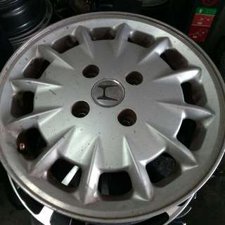 "Honda accord original sport rim  15""   Rm222 for 4pcs sport rim  Cod tyre shop at serdang  Call 012-3200032"
