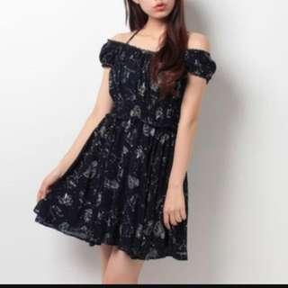 日本secret honey Liz Lisa星座系列燙印連身裙