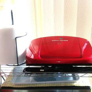 Near New - George ForemanEasy to Clean Grilling Machine