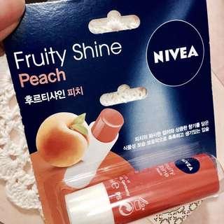 NIVEA果漾潤彩蜜唇膏-水蜜桃 #我有唇彩要賣
