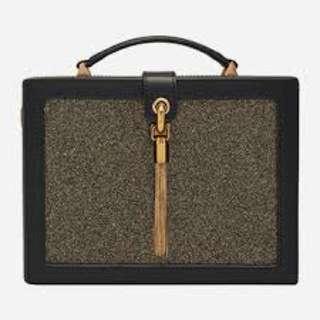 Charles And Keith Tasseled Boxy Bag