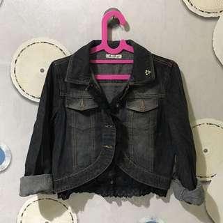 Jaket Jeans Allsize Fit To L