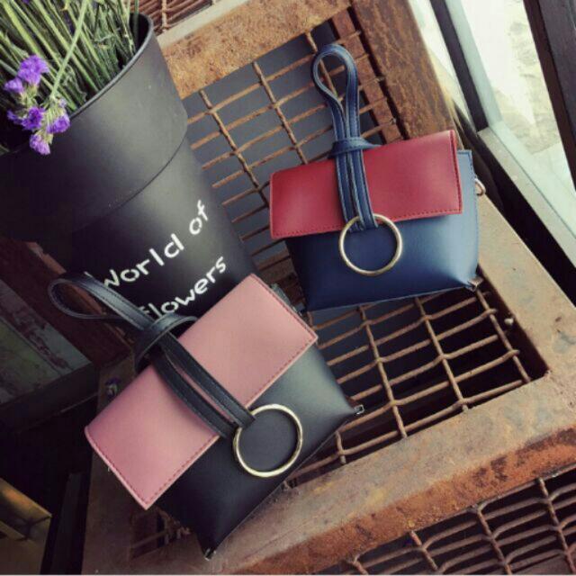2017 New Korean Style Mini Duo Color Bags