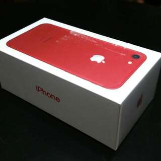 Iphone 7 Limited Edition Red, 128Gb