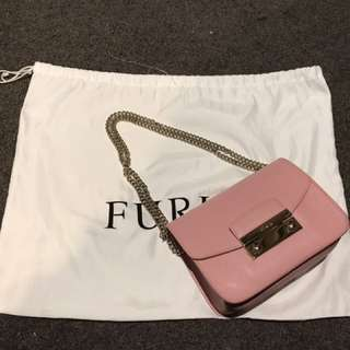 Authentic Furla Light Pink