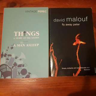 2 Books ( Things & Fly Away Peter )