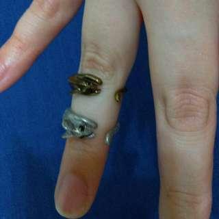 小老鼠 海豚 動物戒指 #內有更多飾品特價#