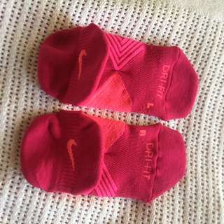 Women's Nike Dri Fit Socks In Pink & Red