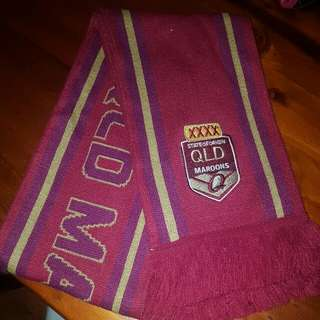 QLD Maroons Winter Scarf Supporter Accessory !