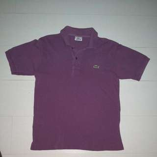 100% Authentic Used Lacoste Men Polo