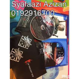 Ps4 Game - The Witcher 3 (Wild hunt)