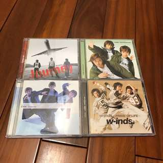 w-inds 專輯 CD