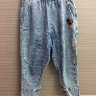 韓版低檔褲