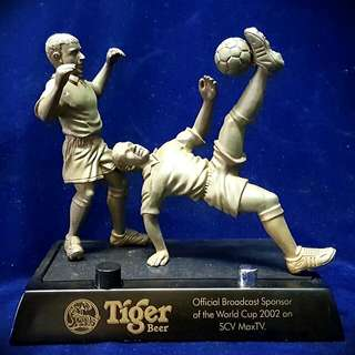 Vintage Tiger Beer World Cup 2002 Table Top Lighter