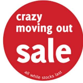 Lelong! Sale! Crazy Sale!
