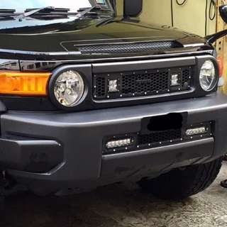 FJ Cruiser RIGID INDUSTRIES USA LED Complete Set