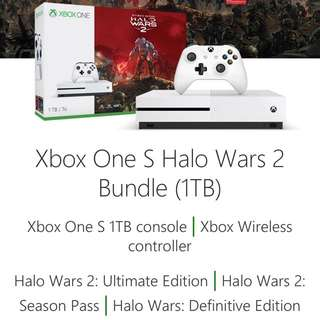 Xbox One S 1TB HALO Wars 2 Ultimate Edition