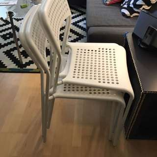 IKEA Dinning Chairs X4 For Sale
