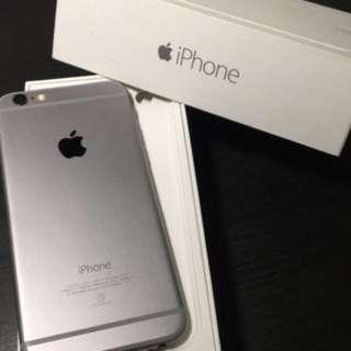 iphone6二手 太空灰 16G