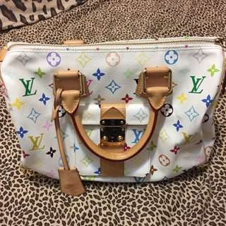 LV Speedy 30 Monogram Multicolore