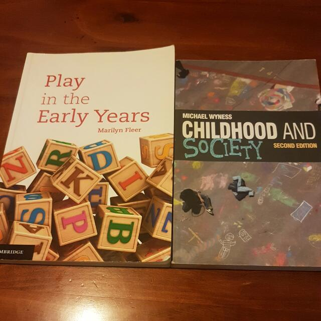 2 Books For Childcare/Teaching Studies