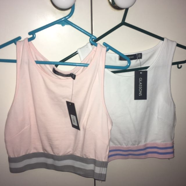 2 Crop Tops From Glassons