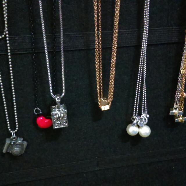 各式項鏈 長鍊 星星 愛心 珍珠蝴蝶 相機  #內有更多飾品特價#