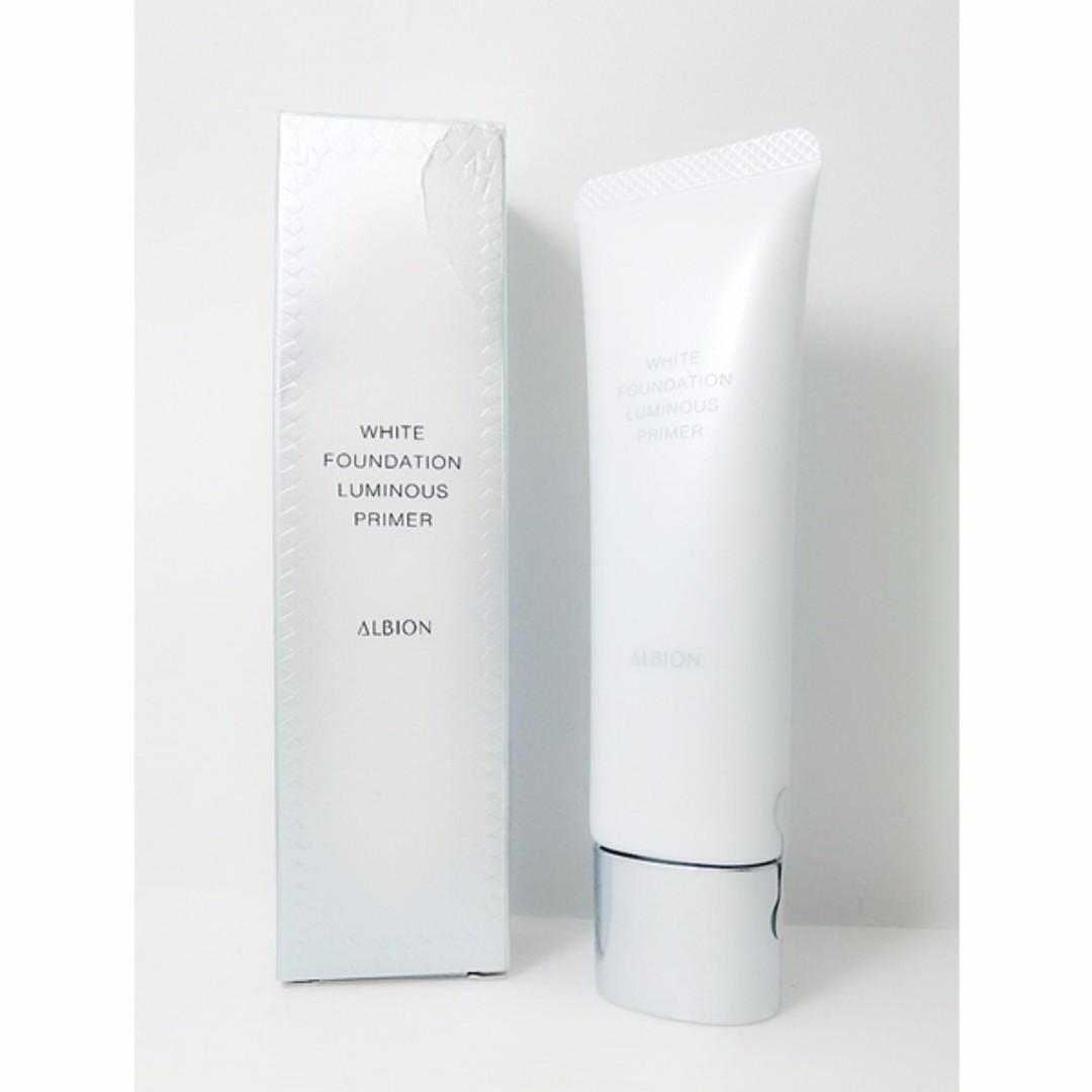 (全新免運) 專櫃 ALBION 夏 雪膚光感妝前乳 SPF30/PA+++(30g)