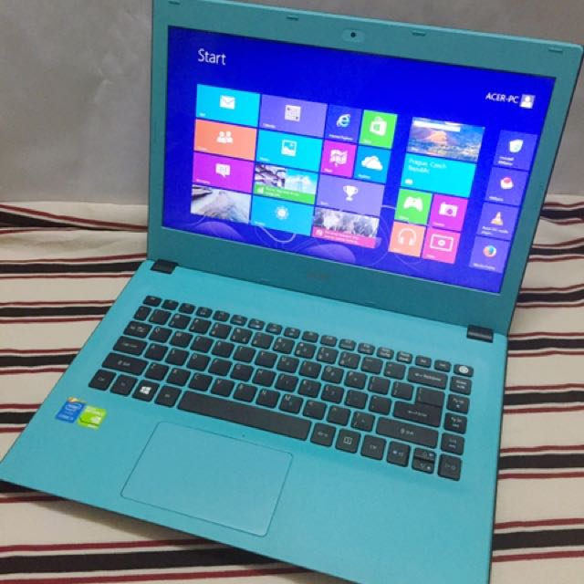 Acer Aspire E-473G i5-5th Gen 4gb RAM 500HDD 2GB Nvidia 940m