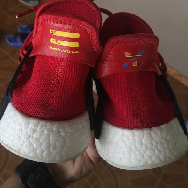 cheap for discount 504af e5e39 Adidas Nmd Pharrell William Human Race Red, Men's Fashion ...