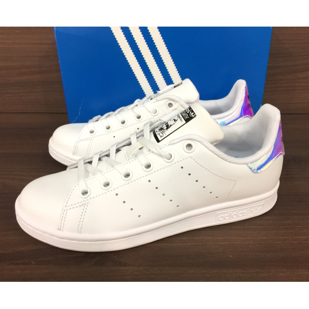 best loved efb84 759ae Adidas Stan Smith Classic White Hologram Iridescent, Women's ...