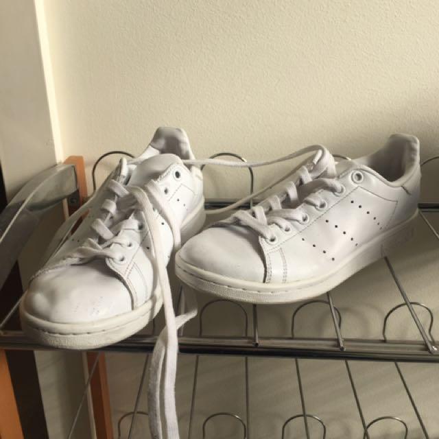 Adidas Stan Smith Triple White US 4.5